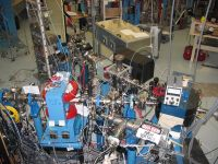 The ECR experiment beamlines