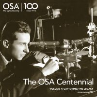 The Optical Society Centennial