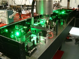 Lasers in the James R. Macdonald Laboratory