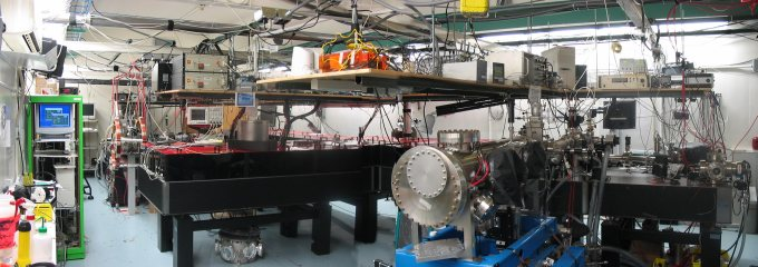Panoramic View of Laser Light Source
