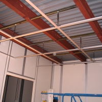 Suspended Ceiling Hangars, May 2012