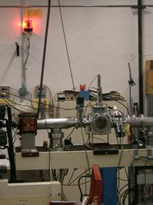 LINAC radiation warning