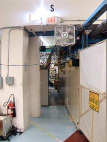 Oxygen deprivation alarm strobe
