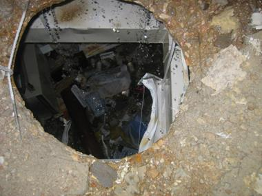 Gas cylinder accident results