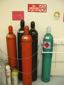 Compressed gas storage