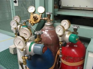 Compressed gas usage