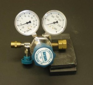 Compressed gas connections