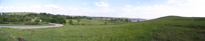 Carnahan Creek Park Panorama