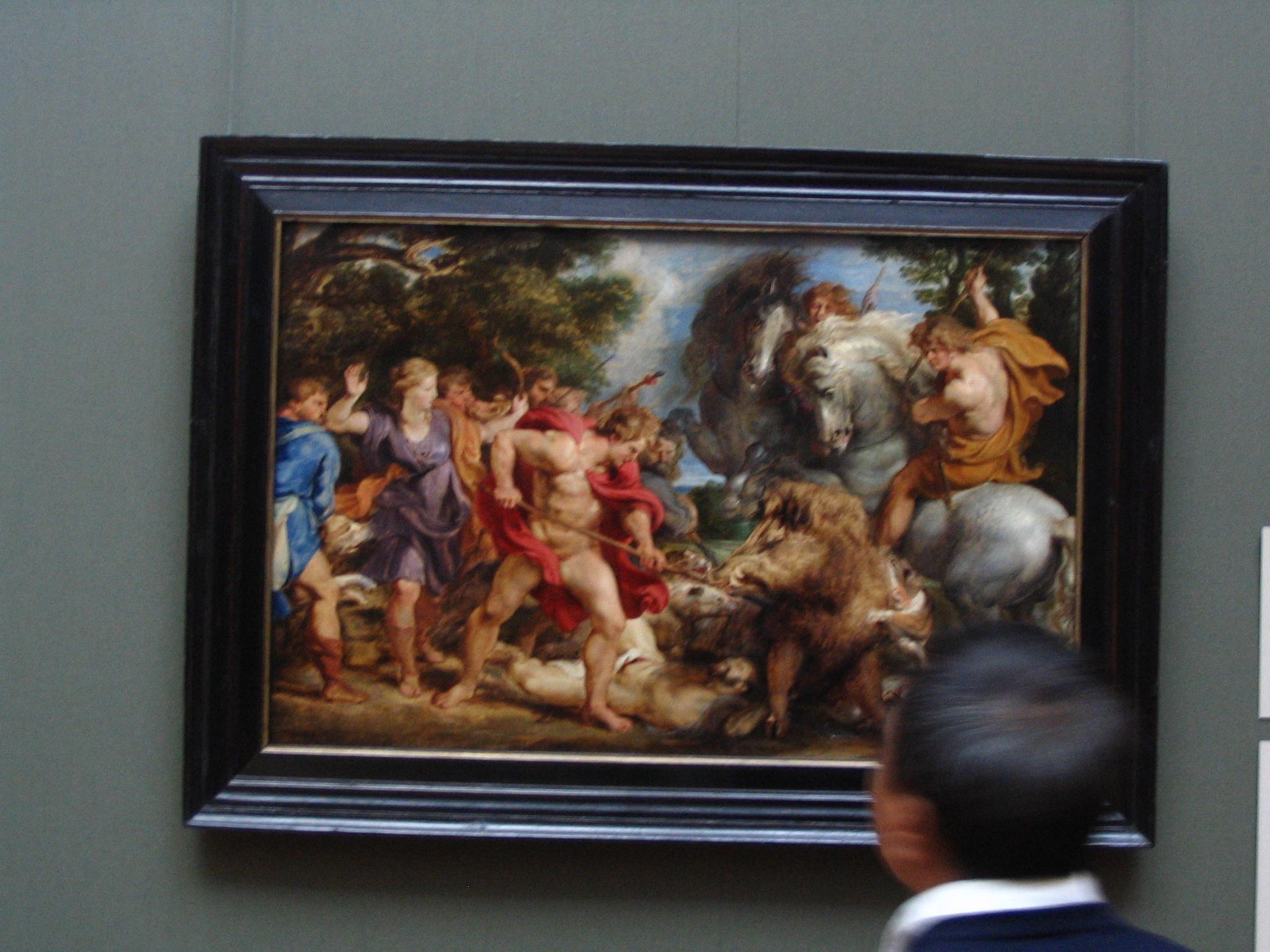 Calydonian Boar Hunt Rubens